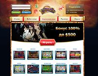 Дизайн сайта азартных игр
