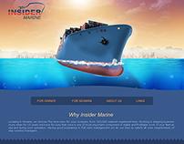 Сайт для крюингового агенства
