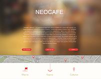 Сайт антикафе Neocafe
