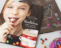 Projeto Editorial de Livro sobre Culinária Infantil