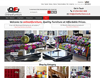 Online4furniture ebay store design