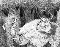 A Firbolg Druid