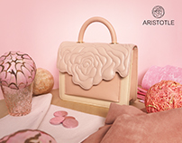 ' Jumbo Rosy Bag ' Aristotle Rose Bag