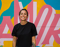 AMOR mural / #MujeresEnAlto