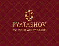 Online jewelry store. E-commerce