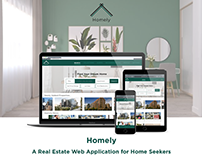 Homely - Real Estate Web App