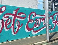 """Let Earth Reign"" Mural"