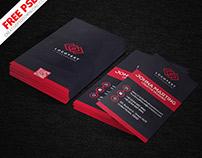 Creative Designer Vertical Business Card PSD