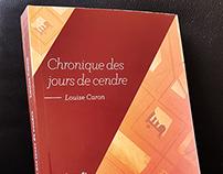 Book cover design | Chronique des jours de cendre