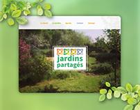Jardins Partagés | Brand Identity & webdesign