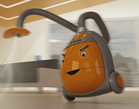 Vacuum character design
