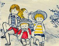 illustration for magazine 飛ぶ教室26