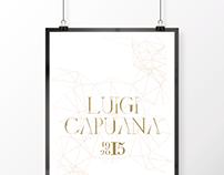 Centenario della morte di Luigi Capuana | Poster