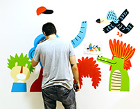 HSA wall paintings