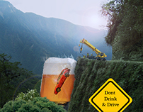 don't drink and drive (image compositing)