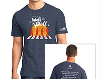 Walking Program Tshirt Design