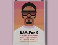 Dåm Funk - X Miami Music Week (flyer)
