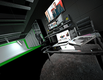 Studio design ( low cost, big impact)