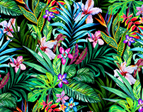 Midnight tropicals
