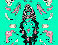 Fluo illustrations collection I