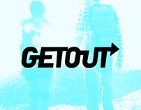 Лендинг и Whitepaper для GetOut ICO