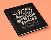 Moby Dick - Book Cover Lettering