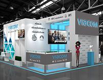 Viacom exhibition stand