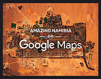 Amazing Namibia on Google Maps ▬ by shiraz & daryan