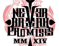 NEVER BREAK PROMISES • Logo - Ep