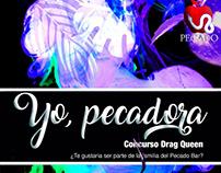 """Social media for a contest at the bar """"El Pecado"""""""