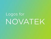 Novatek visual identity