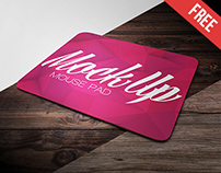 Free Mouse Pad Mock-up