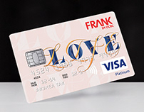 Credit Card Design | BRAVE By FRANK OCBC X MOX