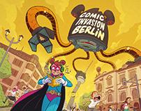 Comic Invasion Berlin 2018 - Promotional Art
