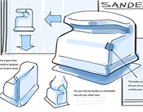 Redesign of mini sander