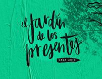 El jardín de los presentes / espacio cultural