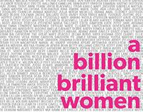 A Billion Brilliant Women