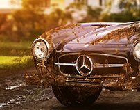 300SL in the mud