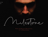 Milestone Signature by Apon Bahrainy
