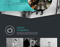 Sitio web para escuela de fotografía