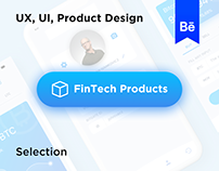 UX, UI Product Design for Bank and Financial Industry