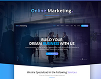 Online Marketing Website