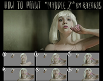 How to paint Maddie