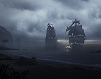 Concept art and matte painting study