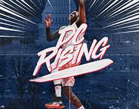 NBA Art | John Wall | dc Rising
