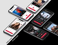 Social betting mobile app
