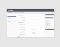 An SaaS Web Application