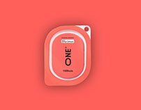 Branding and package design for One powerbank