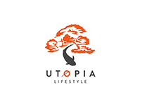 Animated logo for Utopia Lifestyle