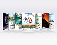 Teknopark Magazine Advertisement Studies